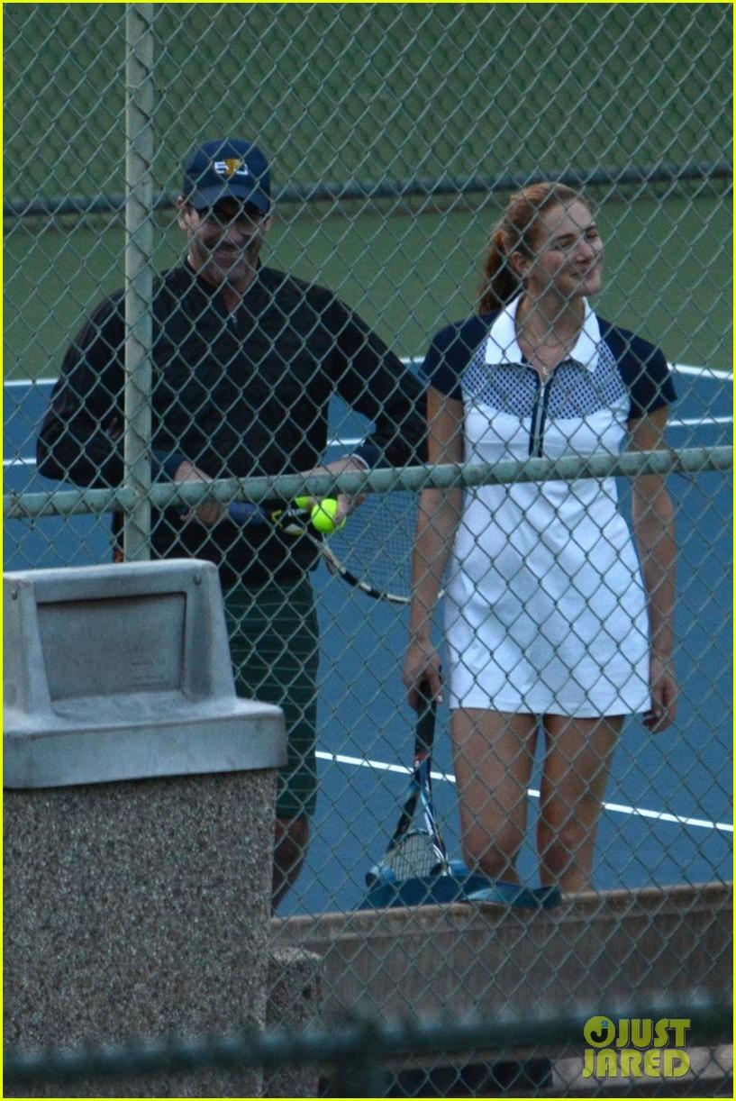 jon hamm plays tennis with a mystery female friend 304056886