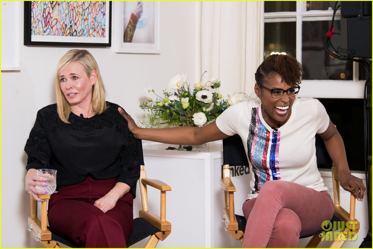 chelsea handler issa rae team up for linkedin panel 034047859