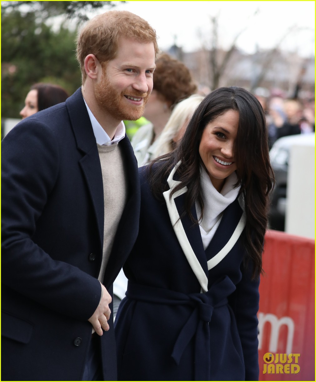 Prince Harry & Meghan Markle Step Out Together For