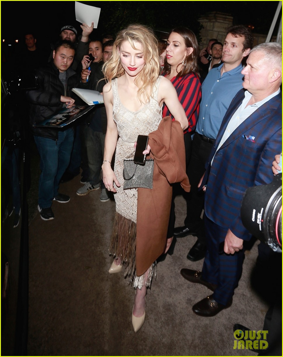 amber heard elon musk same oscars party 034042792