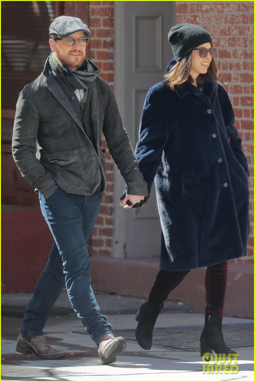 James McAvoy Couples Up With Girlfriend Lisa Liberati For