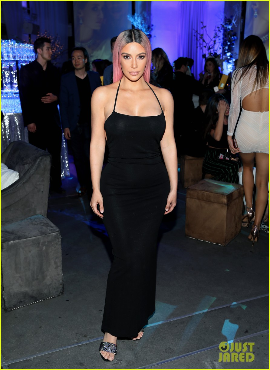 kim kardashian looks super glam at music release party in hollywood 024046415