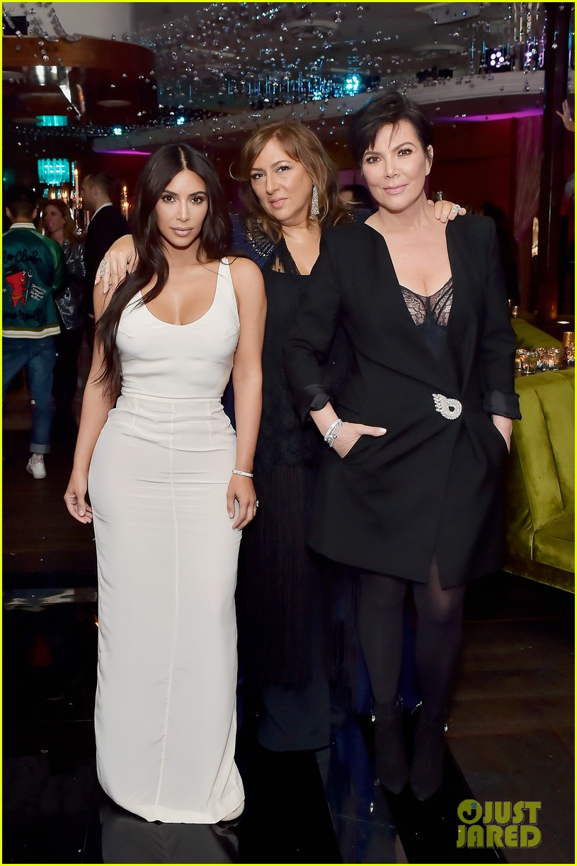 kim kardashian sofia vergara rita ora celebrate at lorraine schwartzs the eye bangles 164050570