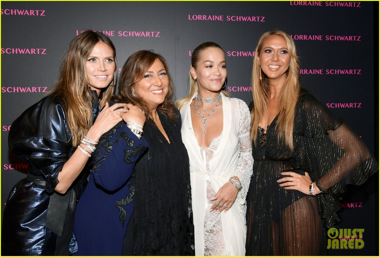 kim kardashian sofia vergara rita ora celebrate at lorraine schwartzs the eye bangles 584050612