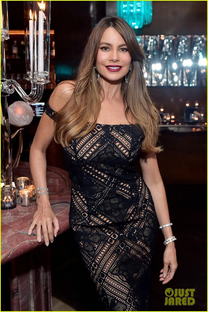 kim kardashian sofia vergara rita ora celebrate at lorraine schwartzs the eye bangles 604050614