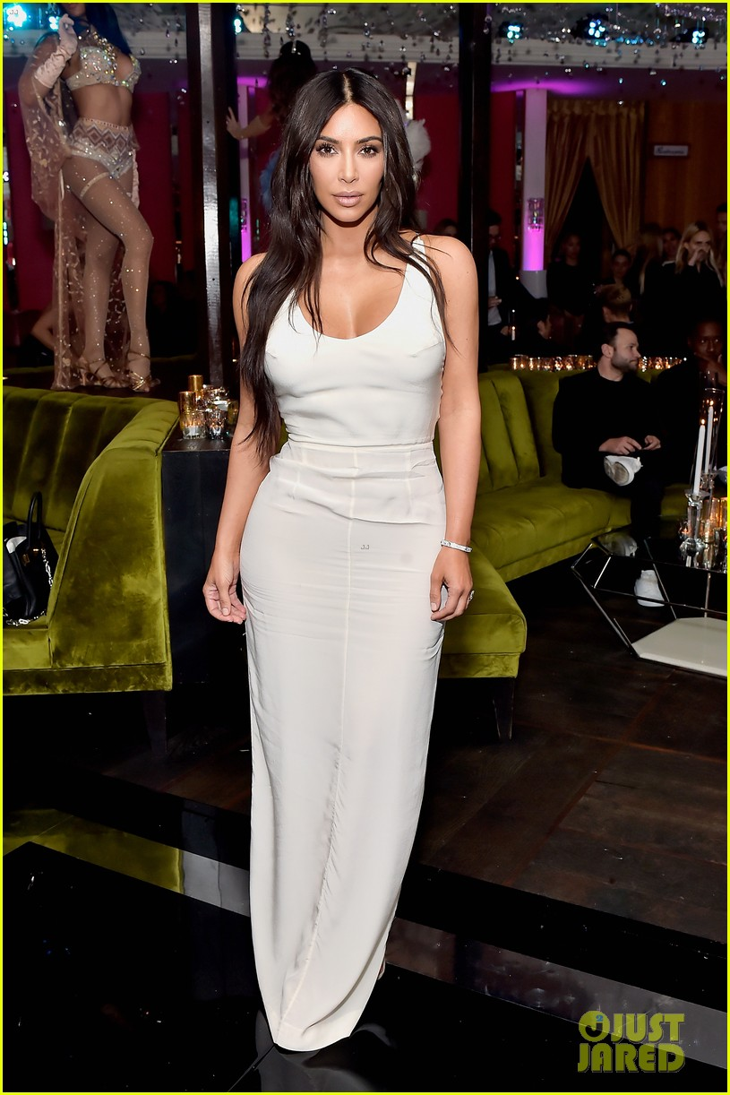 kim kardashian sofia vergara rita ora celebrate at lorraine schwartzs the eye bangles 754050629