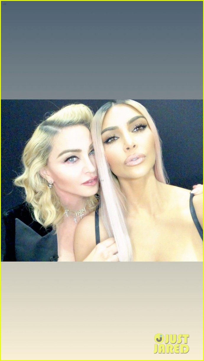 madonna kim kardashian team up for mdna skin meets kkw beauty live sessions 024047205