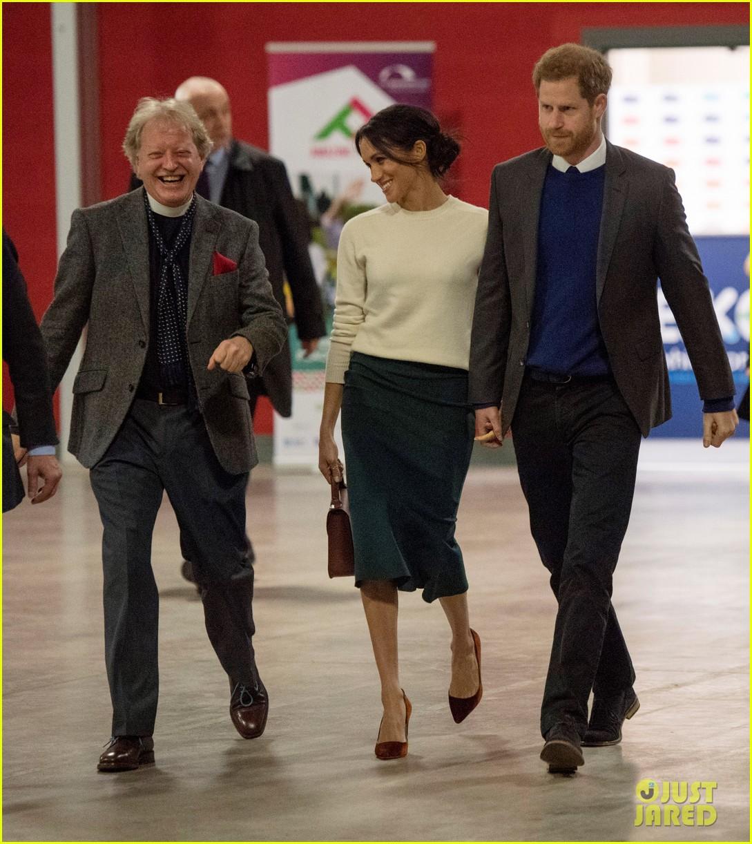Prince Harry & Meghan Markle Make A Surprise Visit To