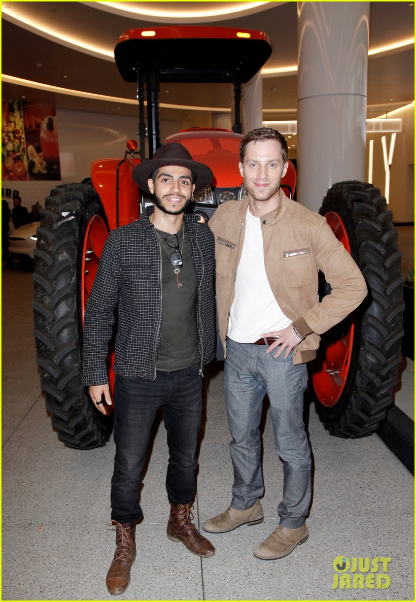annalynne mccord mena massoud lance bass step out for farmhouse l a grand opening 104051612