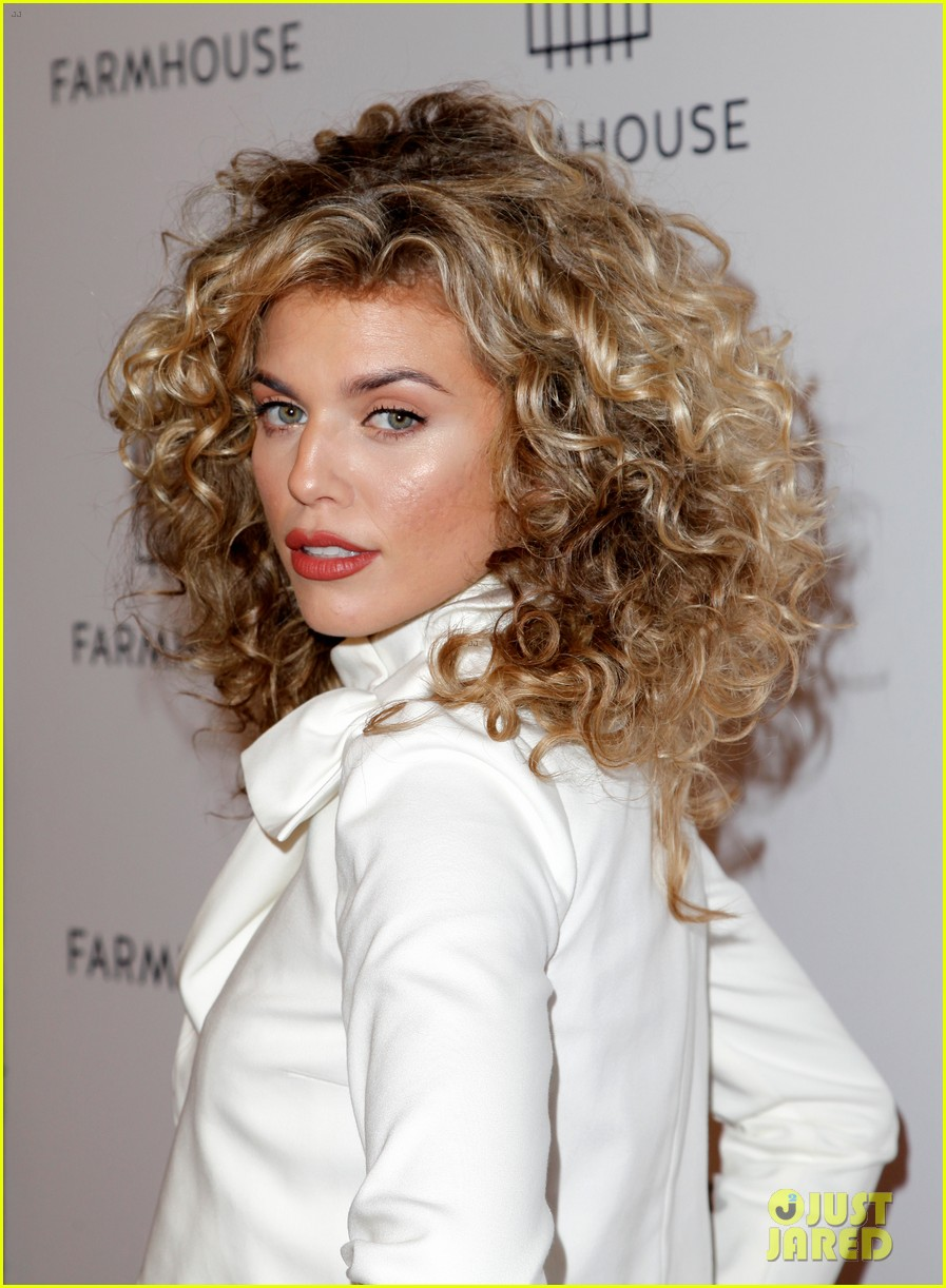 annalynne mccord mena massoud lance bass step out for farmhouse l a grand opening 174051619