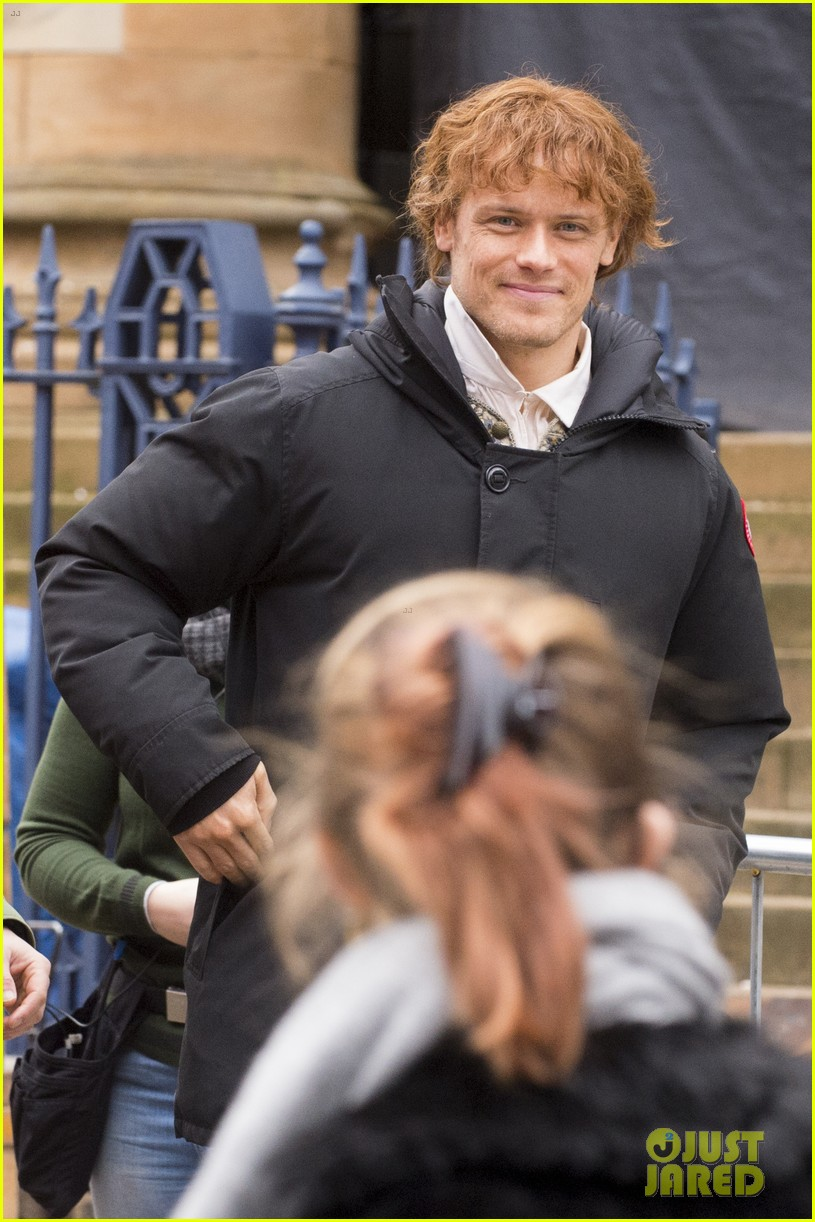 sam heughan outlander set 024050645