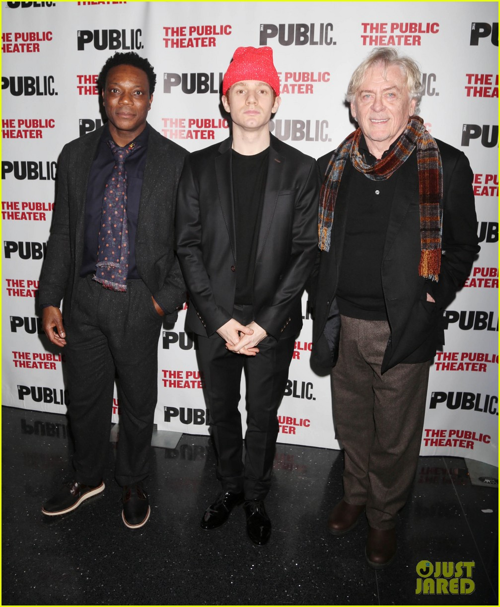 ben platt anthony rapp step out to support the low road opening night 084047983