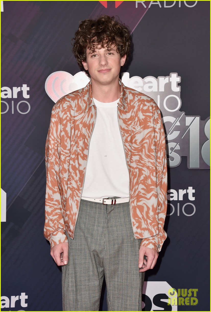 Charlie Puth Rocks Curly Hair At Iheartradio Music Awards