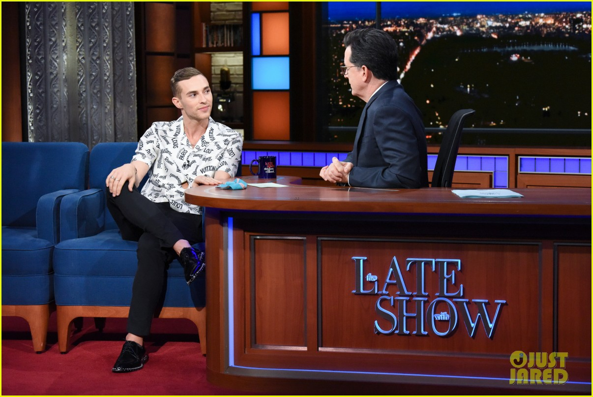 adam rippon tells stephen colbert he would talk to mike pence post olympics 014047883