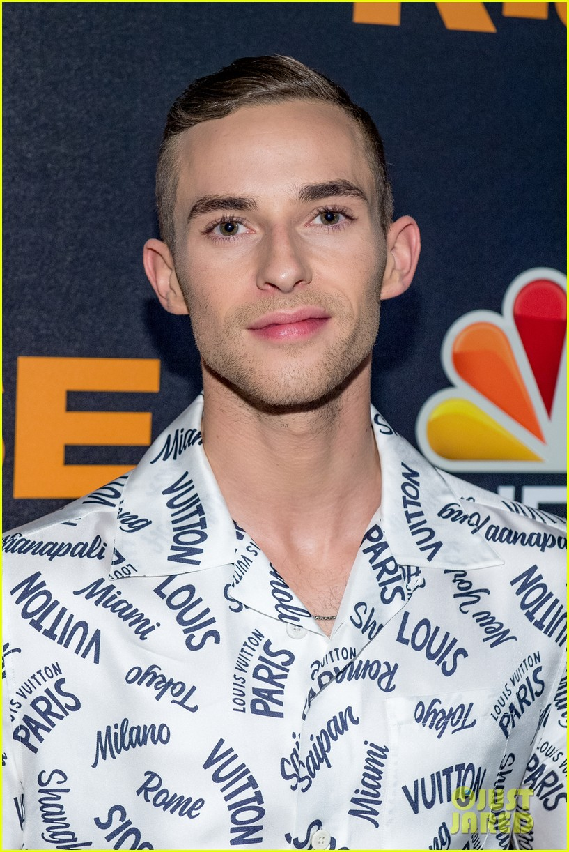 adam rippon tells stephen colbert he would talk to mike pence post olympics 034047885