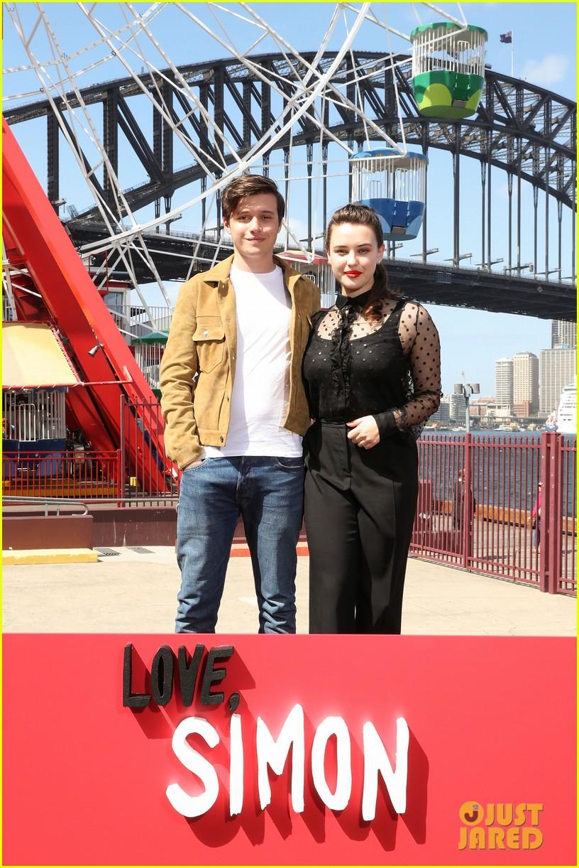 Nick Robinson & Katherine Langford Look Sharp at 'Love ...