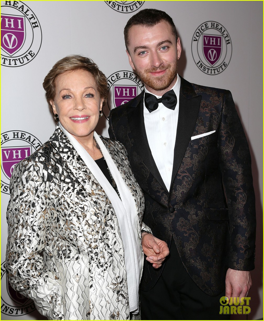 sam smith and christina perri honor julie andrews at raise your voice concert 024046379