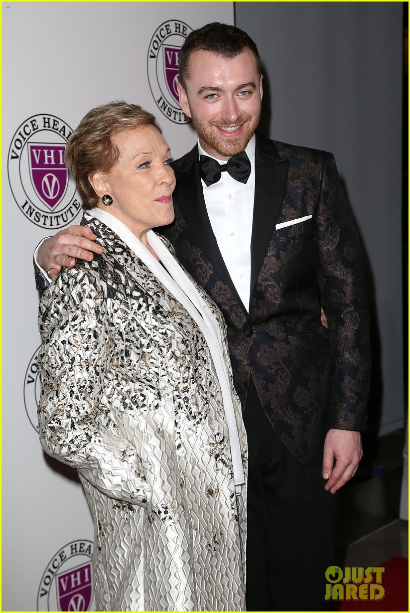 sam smith and christina perri honor julie andrews at raise your voice concert 054046382