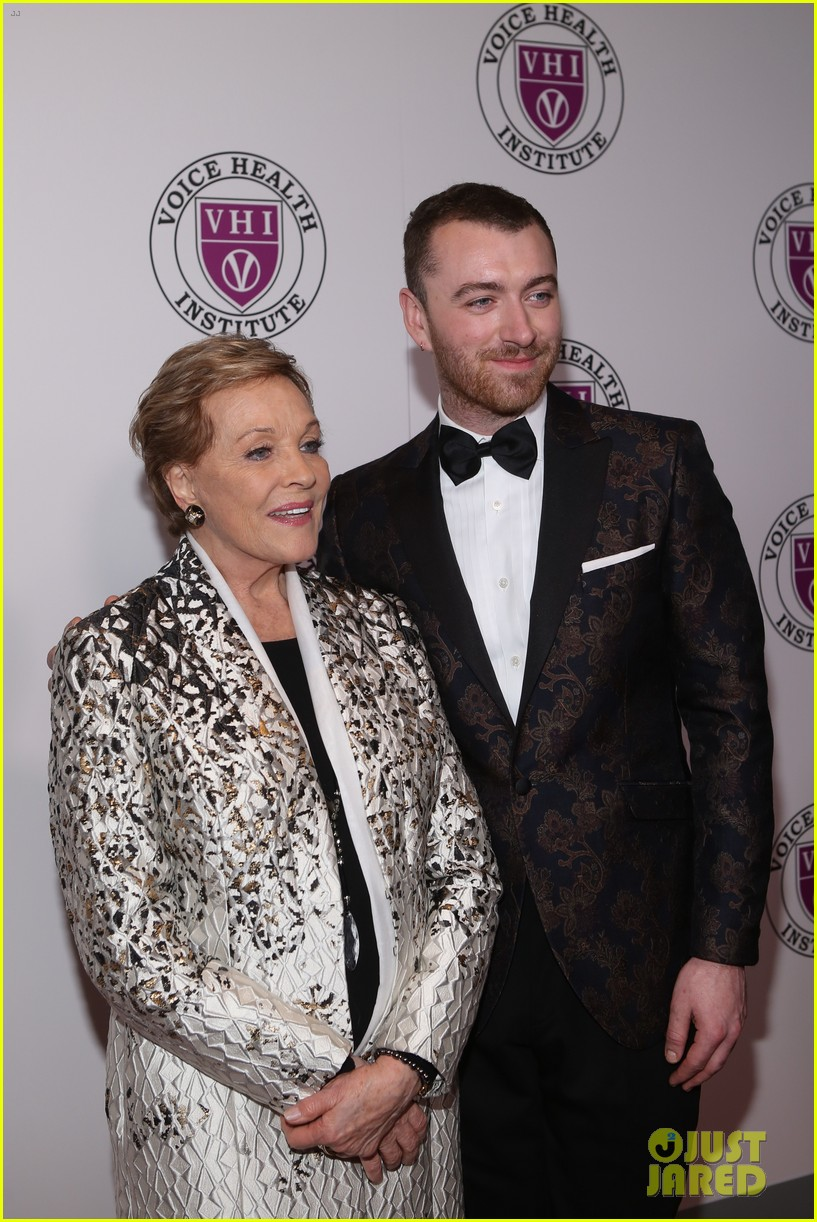 sam smith and christina perri honor julie andrews at raise your voice concert 304046407