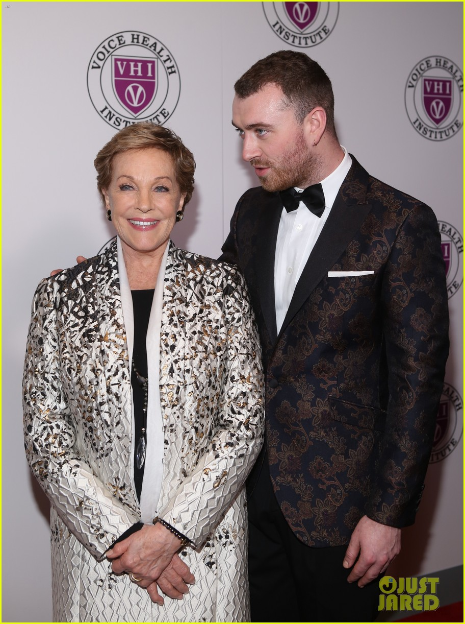 sam smith and christina perri honor julie andrews at raise your voice concert 324046409