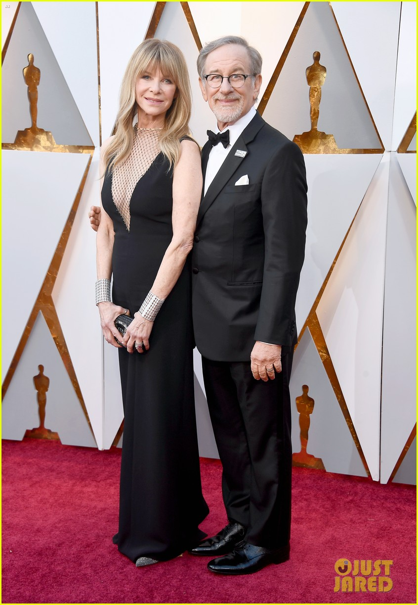 Steven Spielberg Amp Wife Kate Capshaw Couple Up For Oscars