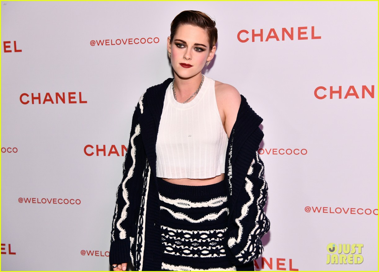 kristen stewart stella maxwell tessa thompson celebrate chanel beauty house 014041087