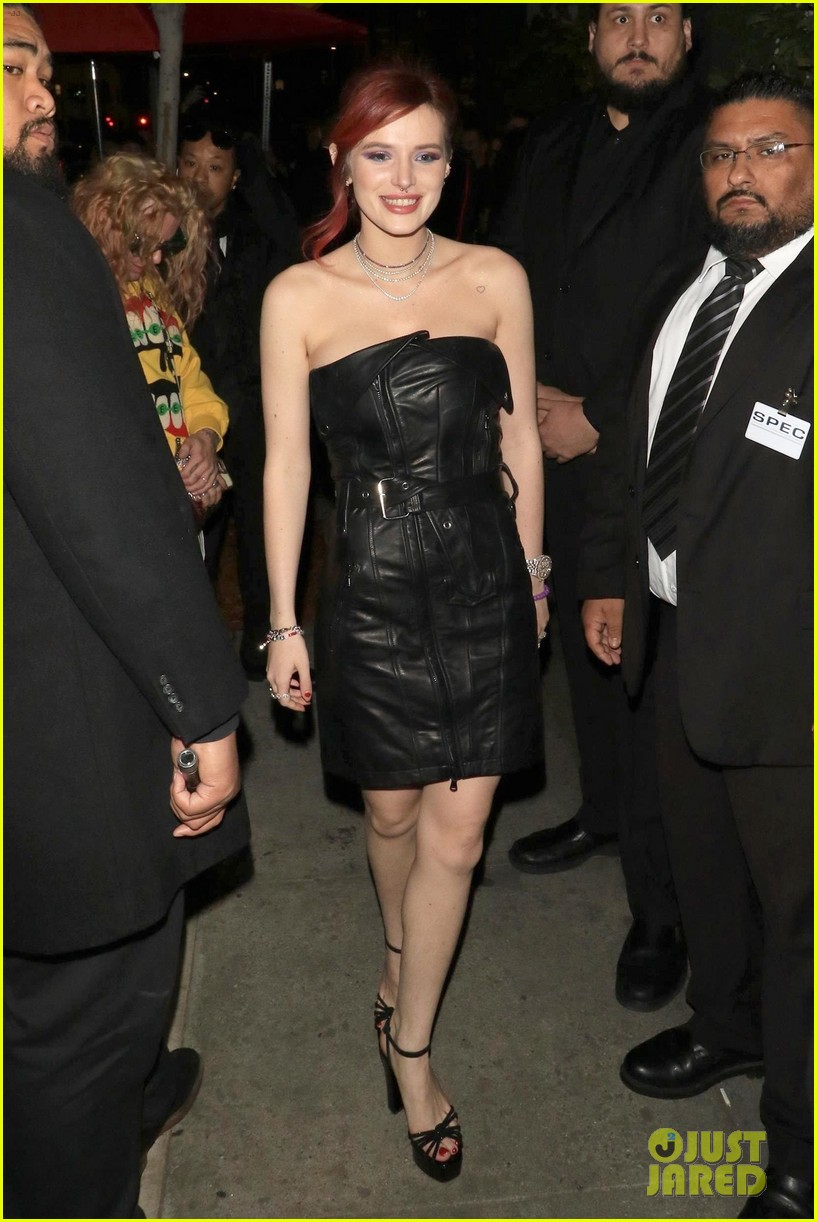bella thorne black dress midnight sun party 014051645