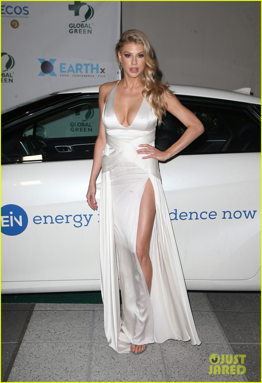 ashley tisdale charlotte mckinney more step out for global green pre oscar gala 104041301