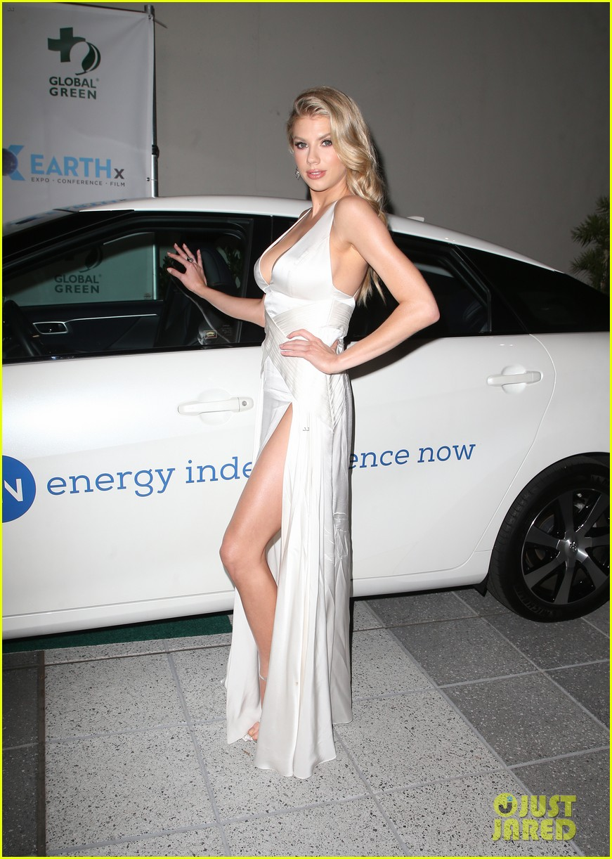 ashley tisdale charlotte mckinney more step out for global green pre oscar gala 114041302
