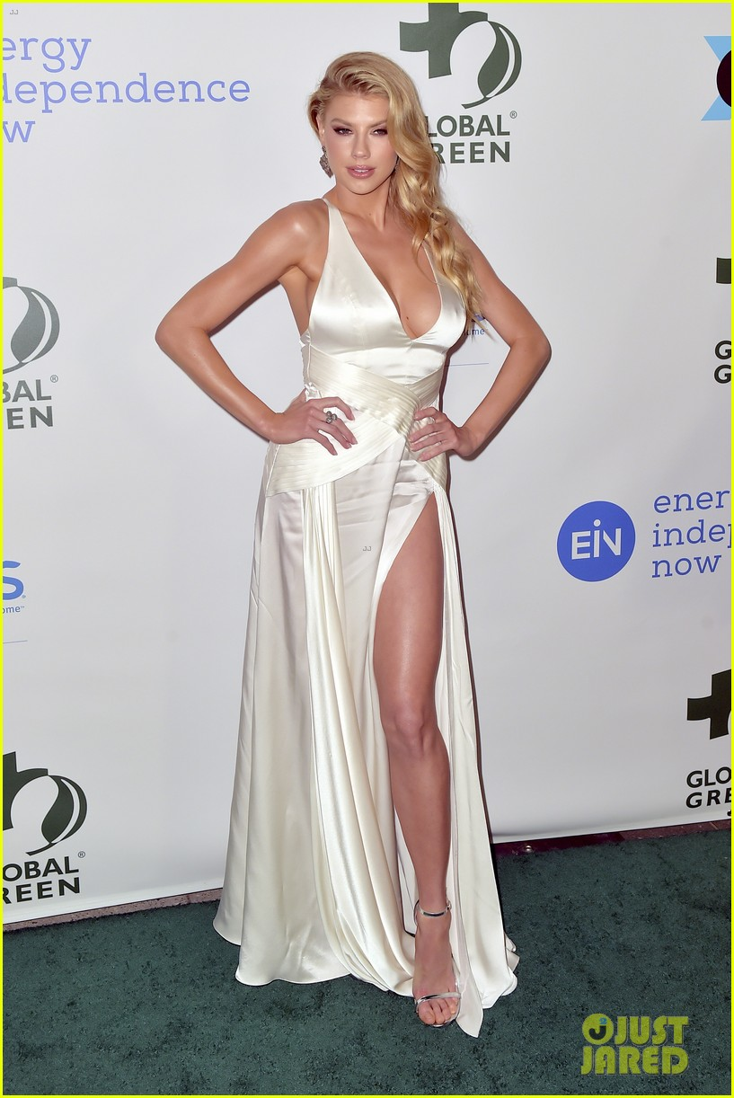 ashley tisdale charlotte mckinney more step out for global green pre oscar gala 454041336