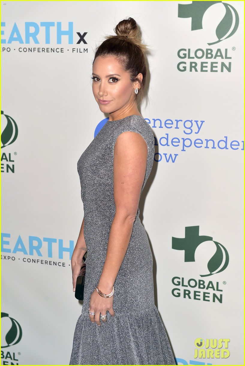 ashley tisdale charlotte mckinney more step out for global green pre oscar gala 504041341