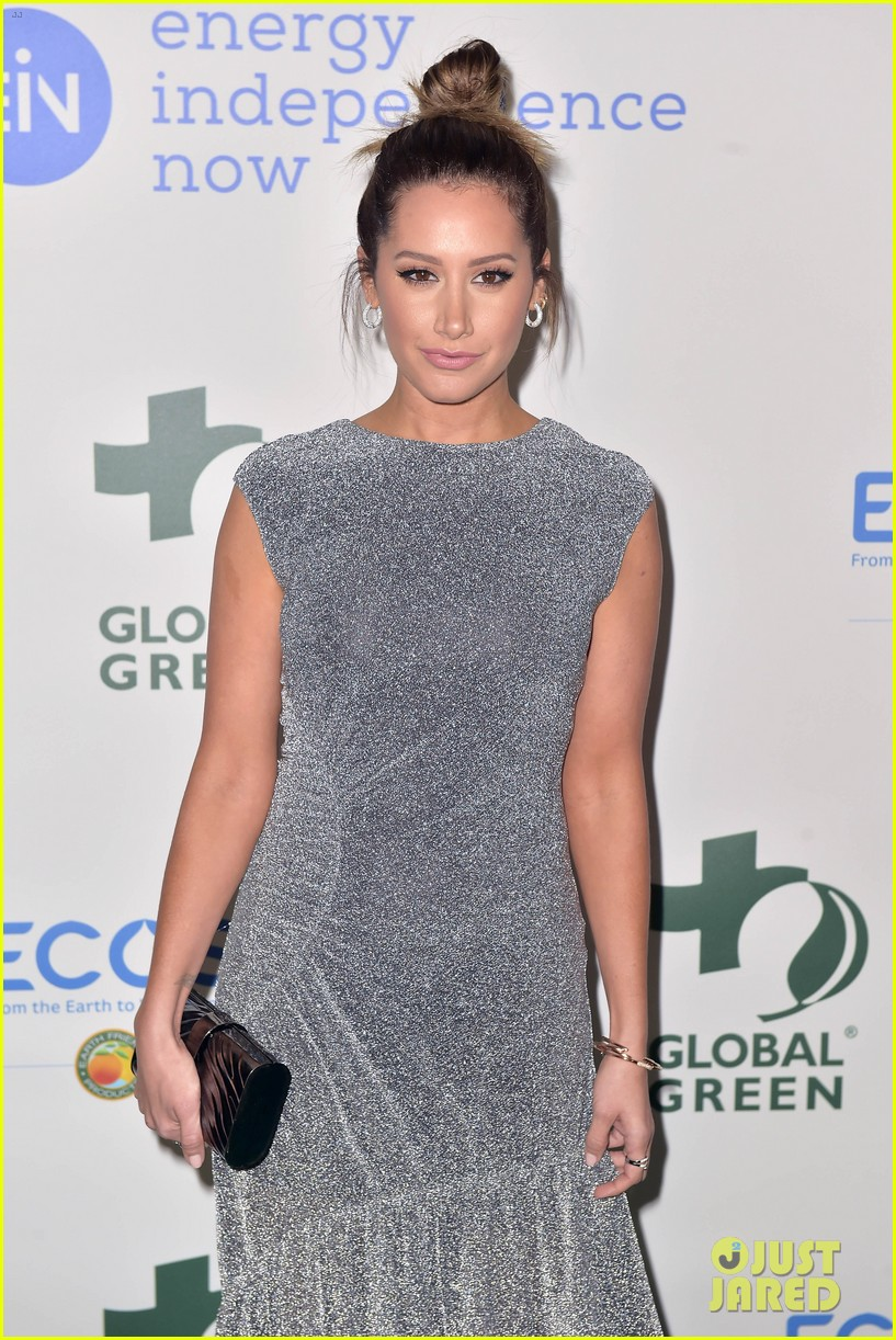 ashley tisdale charlotte mckinney more step out for global green pre oscar gala 514041342