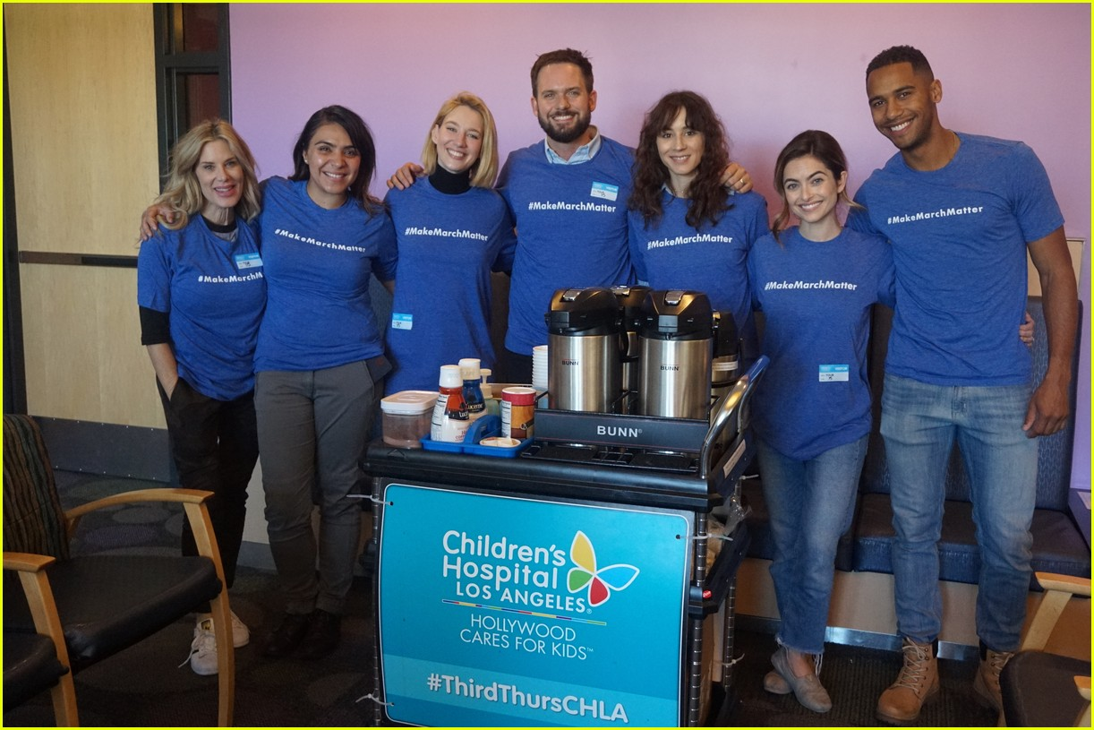 troian bellisario patrick j adams childrens hospital 084052027