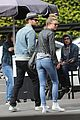 emily vancamp josh bowman couple up for lunch in los feliz 12