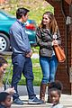 mark wahlberg and rose byrne film park scene for instant family 01