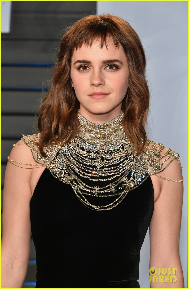 emma watson tattoo times up oscars party 054046194