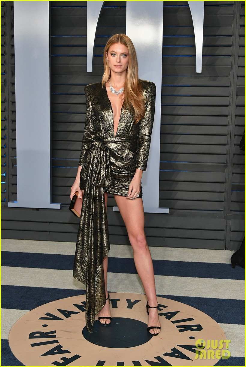 rosie huntington whiteley oscars 2018 after party 114045892