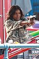 jessica alba gabrielle union bad boys filming santa monica 04