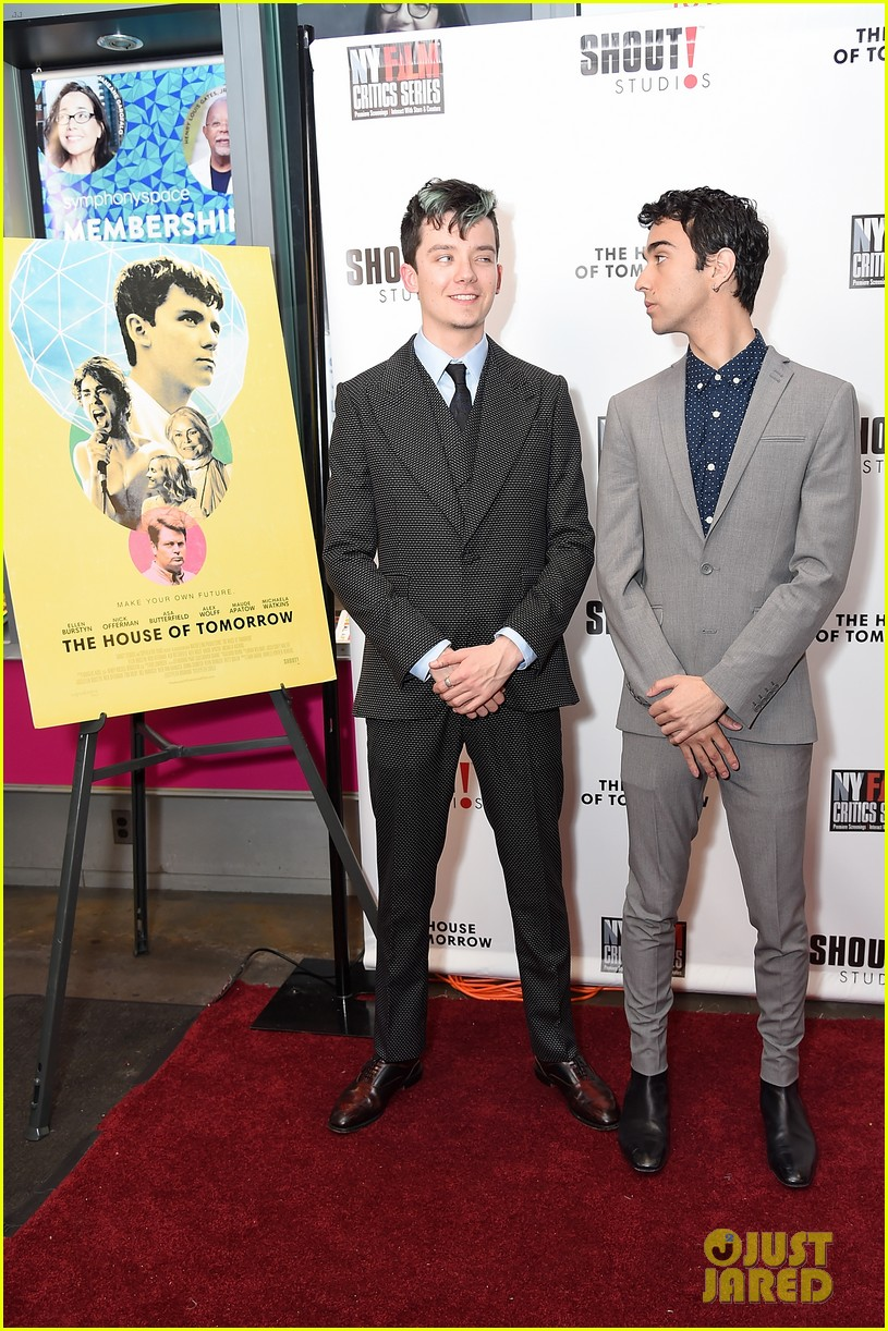 jalex woff asa butterfield premiere house of tomorrow nyc 084066809