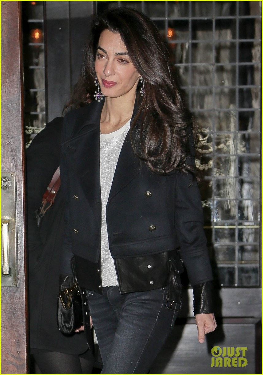 amal clooney rocks three chic looks while out in new york