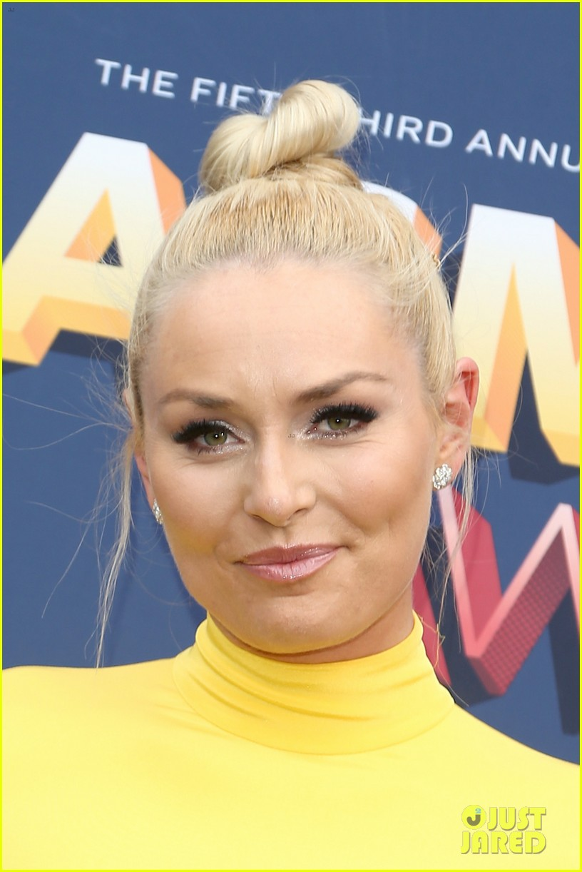 drew brees lindsey vonn acm awards 2018 054065505