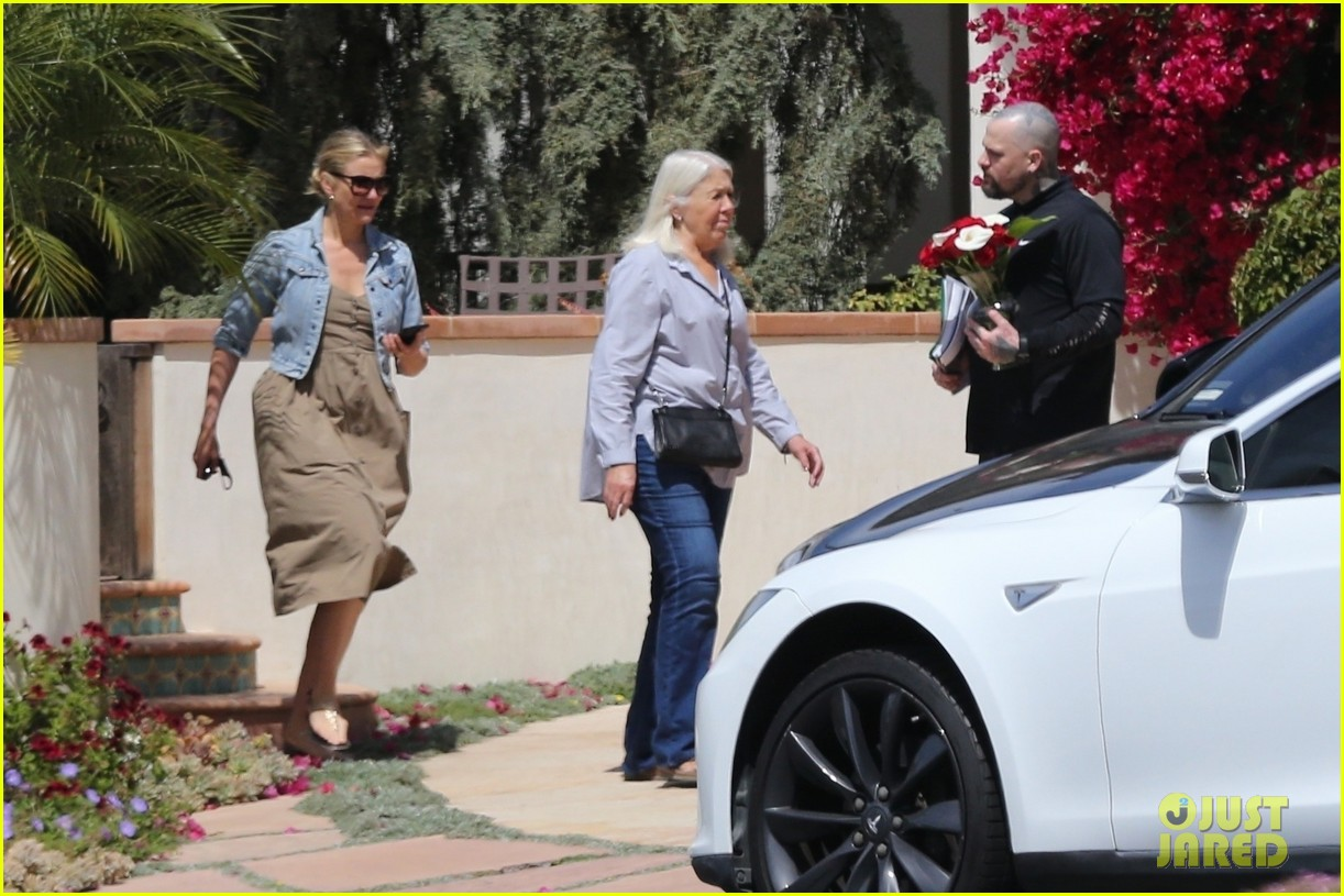 cameron diaz benji madden mom april  2018 014065641