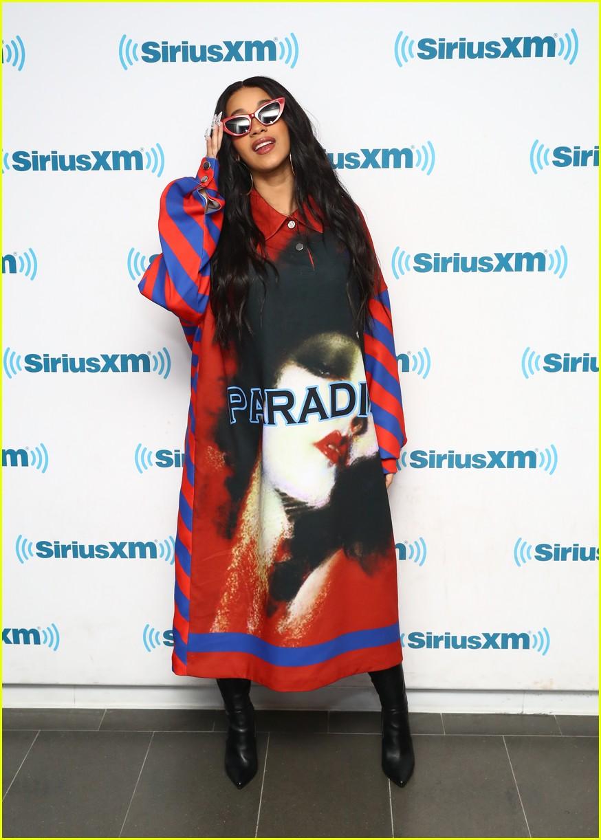 Cardi B Siriusxm Studios April 2018 02