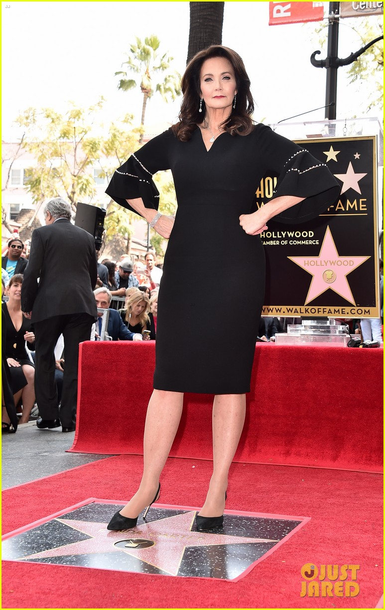 lynda carter honored with star on hollywood walk of fame 044059792