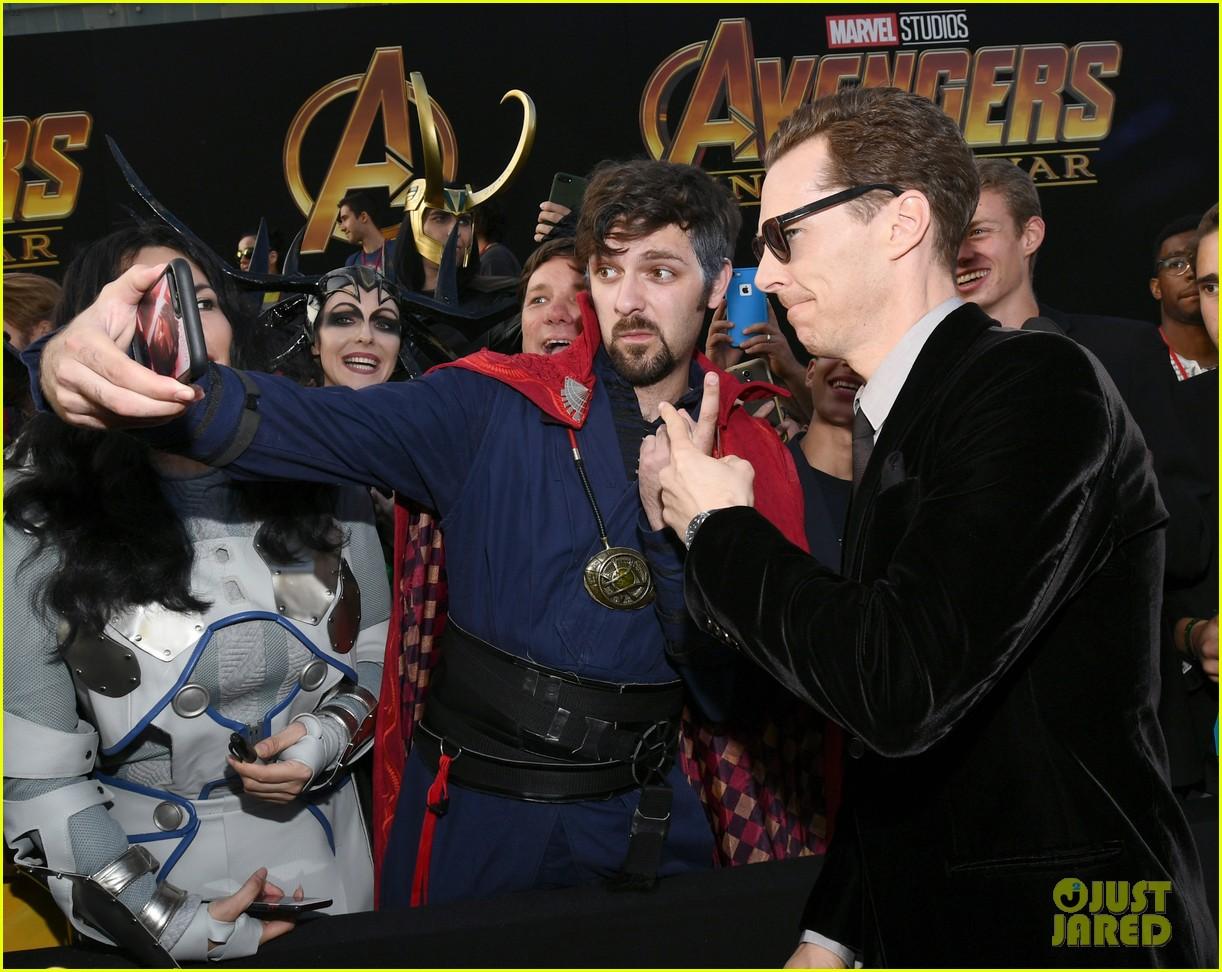 benedict cumberbatch benedict wong and paul rudd assemble at avengers infinity war premiere 054071236