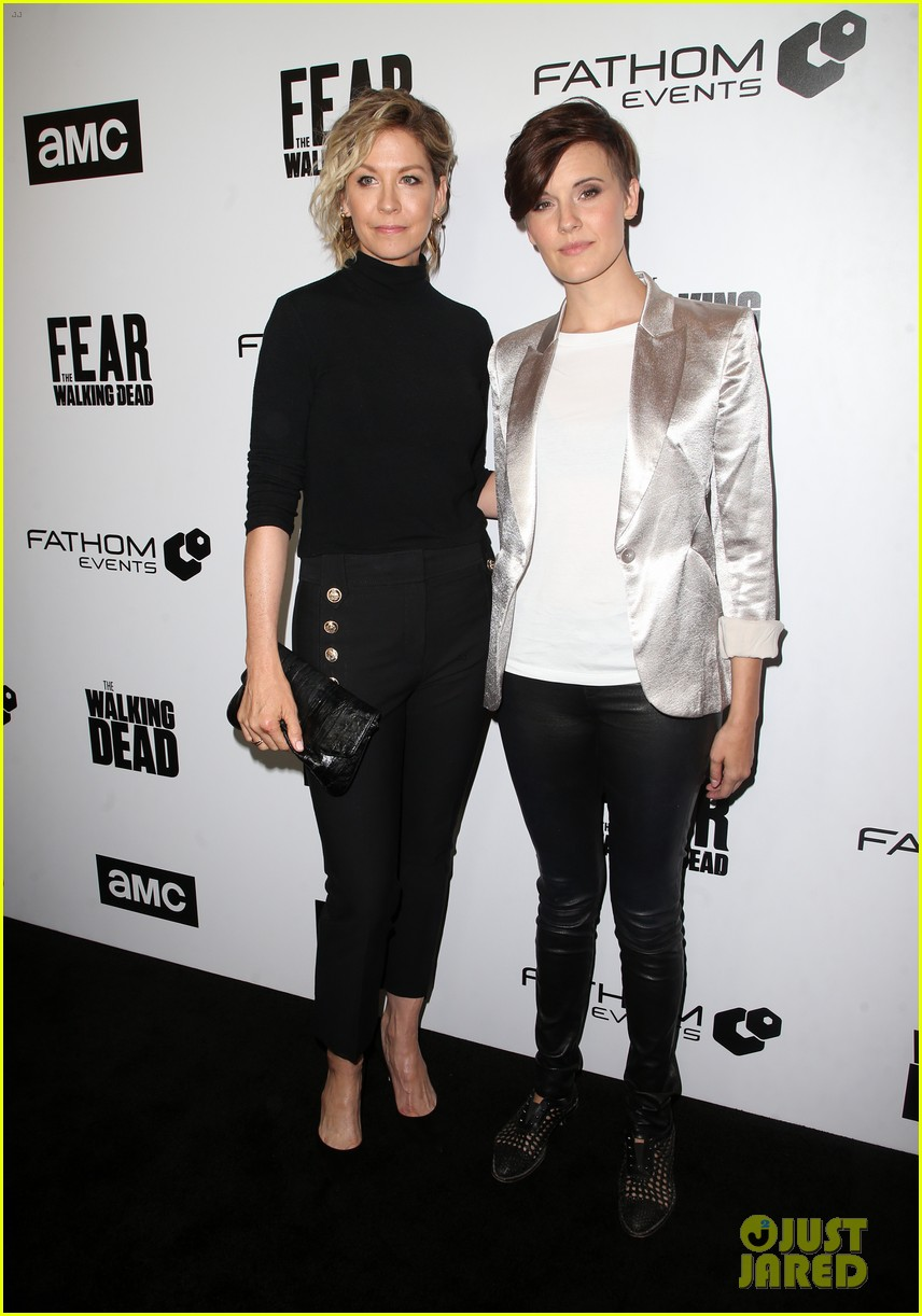 jenna elfman maggie grace more join forces at the walking deads survival sunday 044065808
