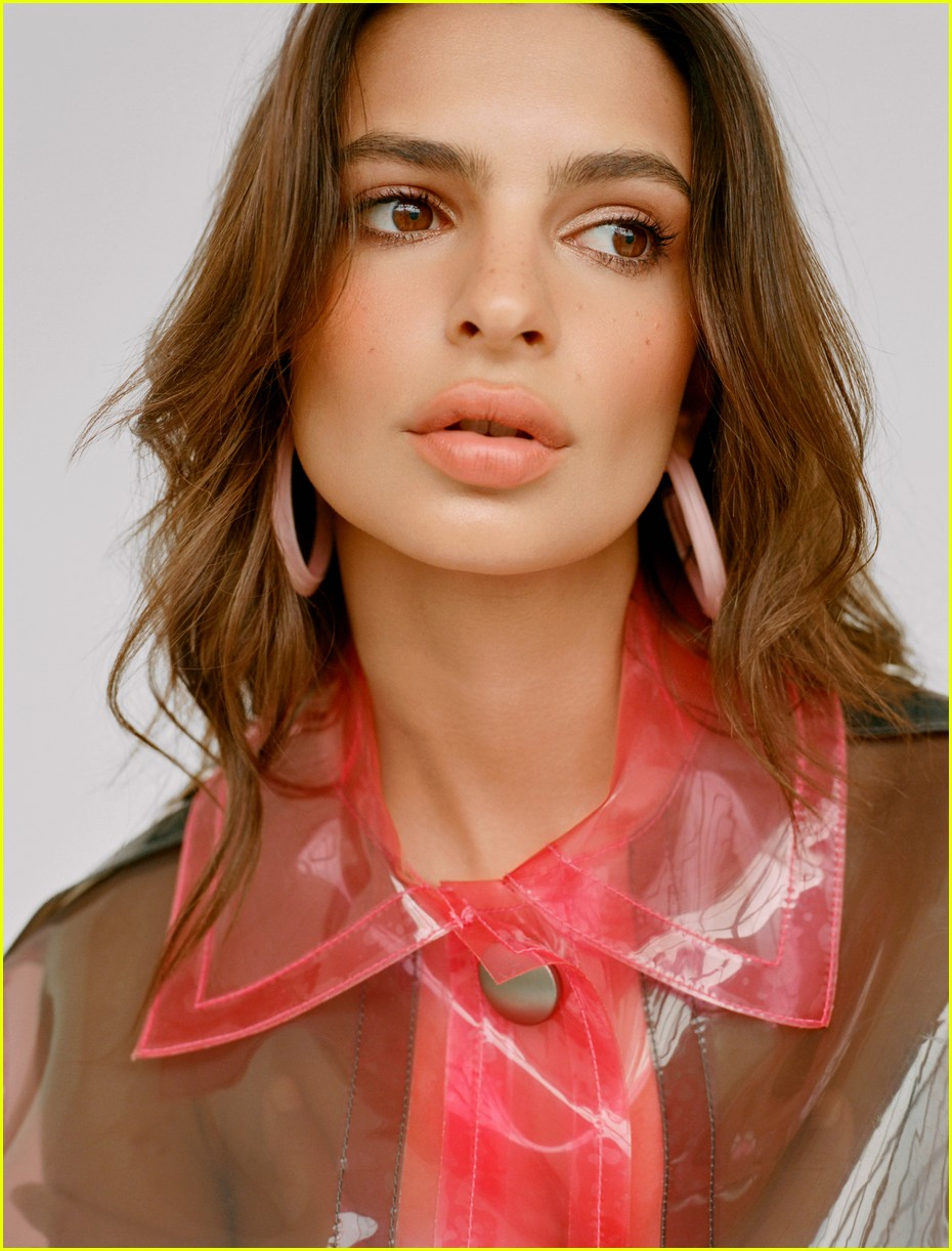 Emily Ratajkowski Stuns in Alison Lou Jewelry Campaign Photo