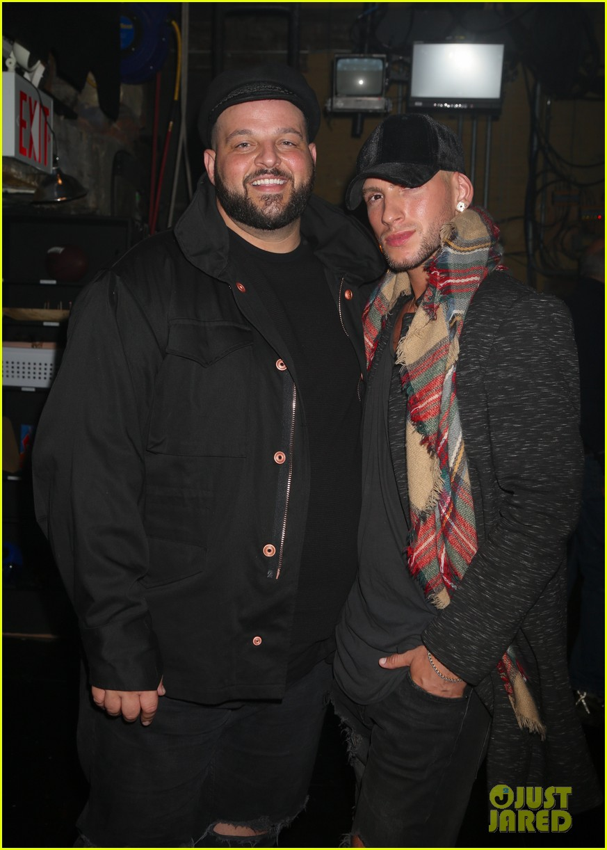 daniel franzese and gaten matarazzo check out mean girls on broadway 044063008
