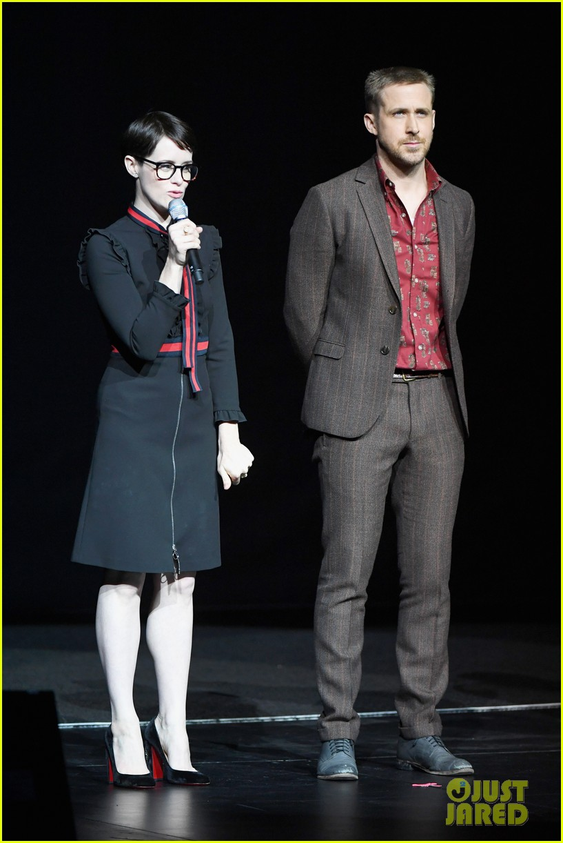 ryan gosling claire foy and damien chazelle talk first man at cinemacon 2018 064072276