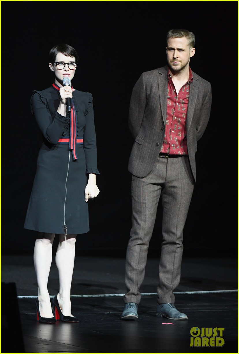 ryan gosling claire foy and damien chazelle talk first man at cinemacon 2018 084072278